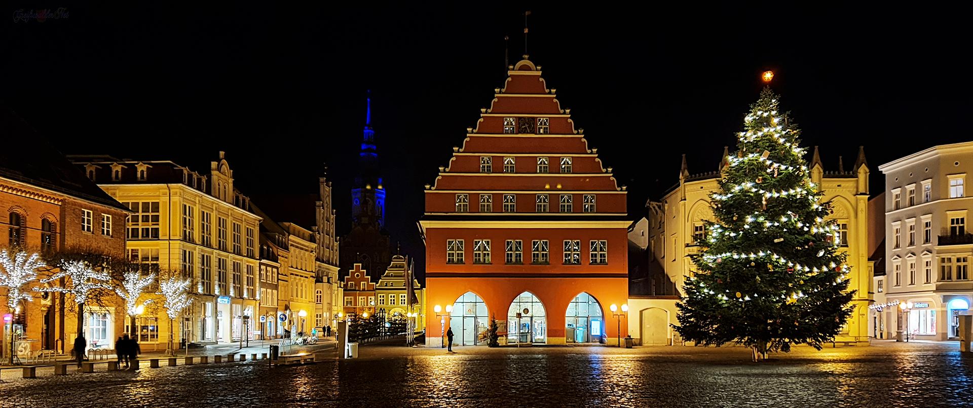 Freitagabend in Greifswald