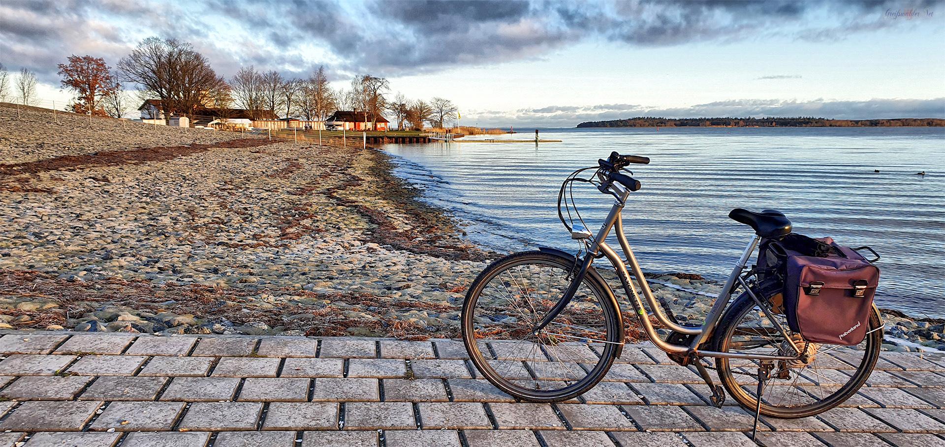 Fahrradtour am Weihnachtsmorgen