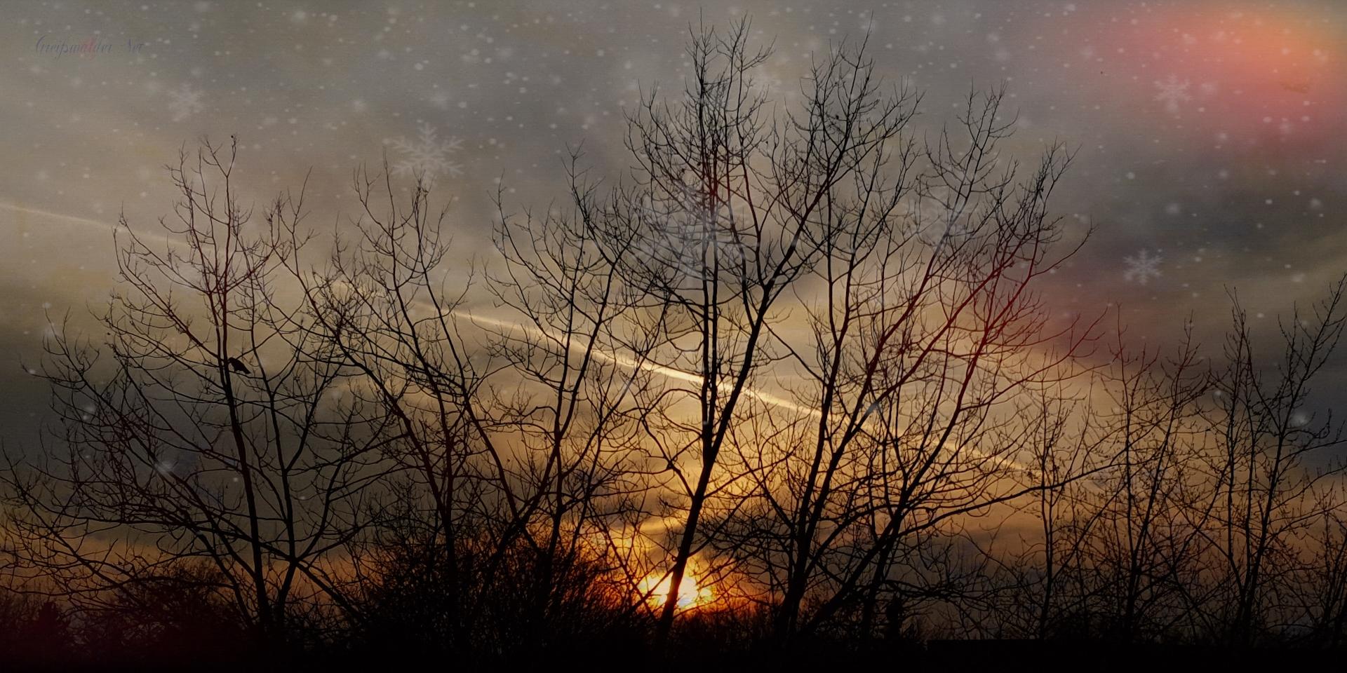 Sonnenuntergang Greifswald