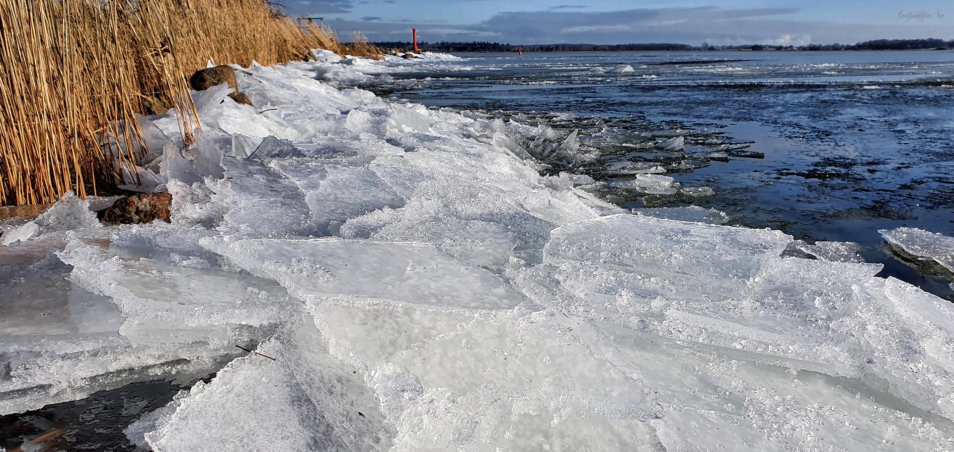 Eis auf der Dänischen Wiek