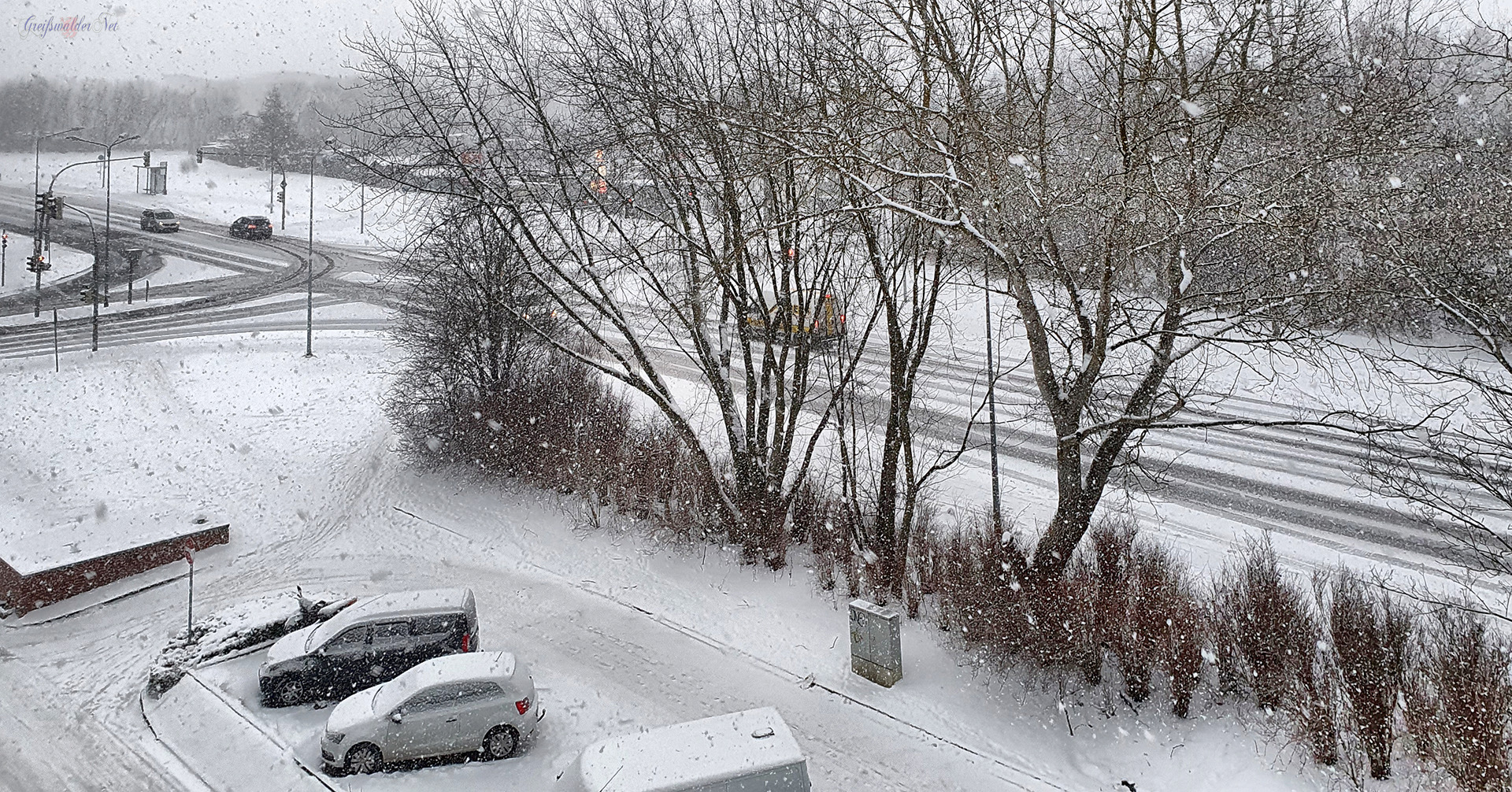 Wintermorgen am 11. Februar 2021