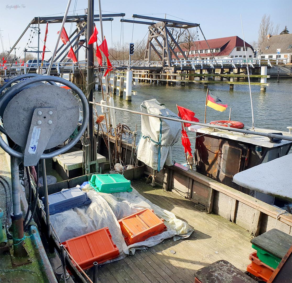 Frühlingswetter in Greifswald-Wieck